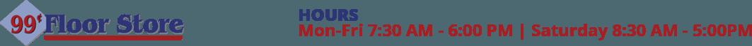 99 Cent Floor Store Logo
