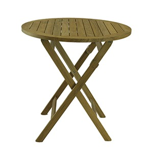 BALI RUSTIC TEAK FOLDING TABLE