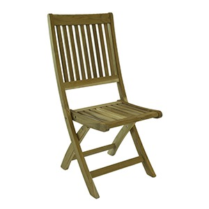 BALI RUSTIC TEAK FOLDING CHAIR