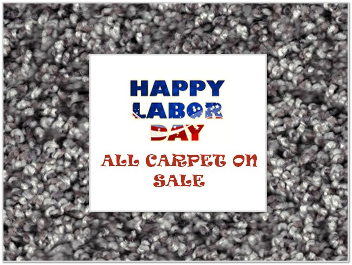 LABOR DAY CARPET SALE