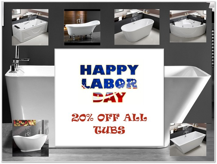 LABOR DAY TUB SALE