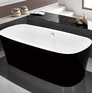 C-3206-1 ACRYLIC TWO TONE BATHTUB