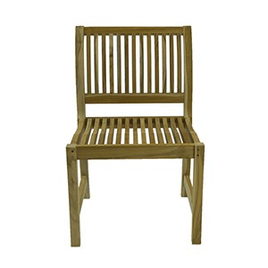 Traditional Teak Side Chair 99 Cent Floor Store