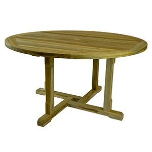 Saltram Round Teak Table 99 Cent Floor Store