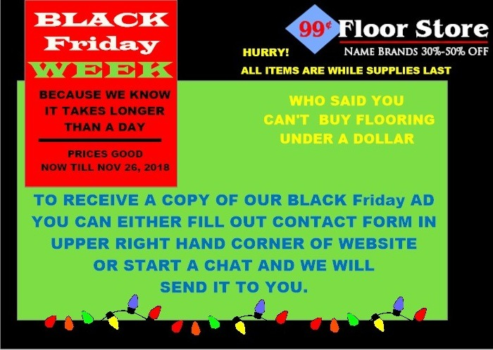 BLACK FRIDAY CONTACT FORM