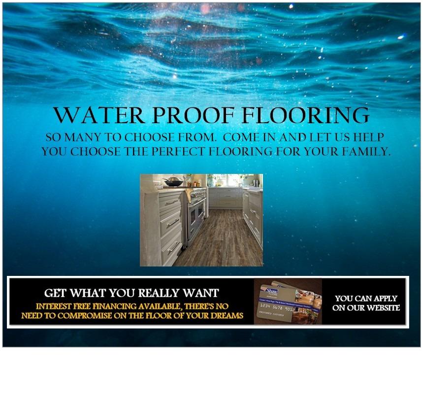 WATER PROOF FLOORING