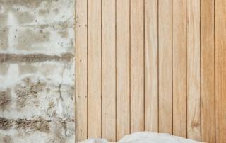 Alternative flooring options make great focal pieces.