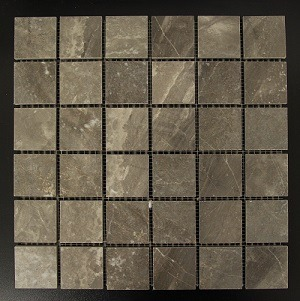 BLACK DESIRE BLOCK MOSAIC TILE