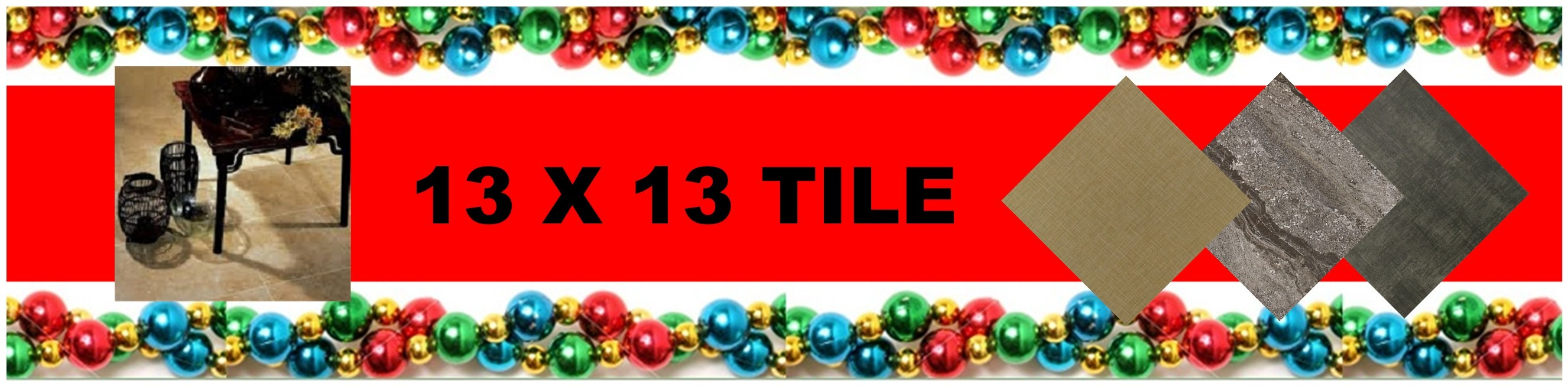 CHRISTMAS 13 X 13 TILE HEADER