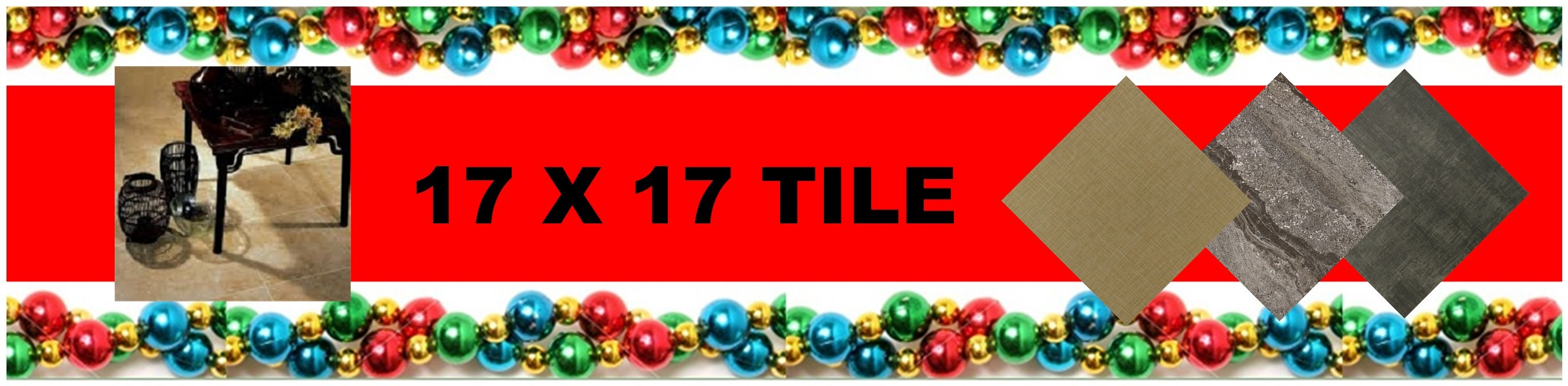 CHRISTMAS 17 X 17 TILE HEADER