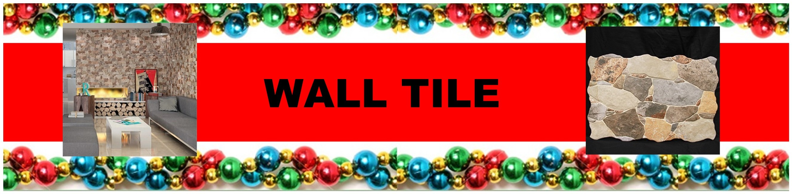 CHRISTMAS WALL TILE HEADER