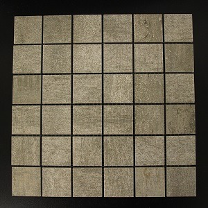 GREY BLOCK MOSAIC TILE
