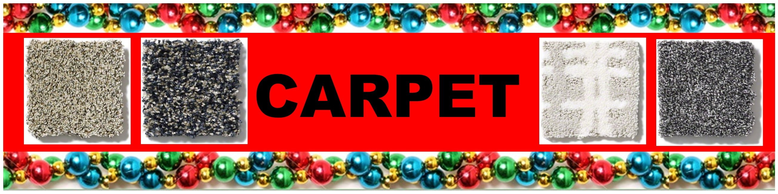 CHRISTMAS CARPET HEADER