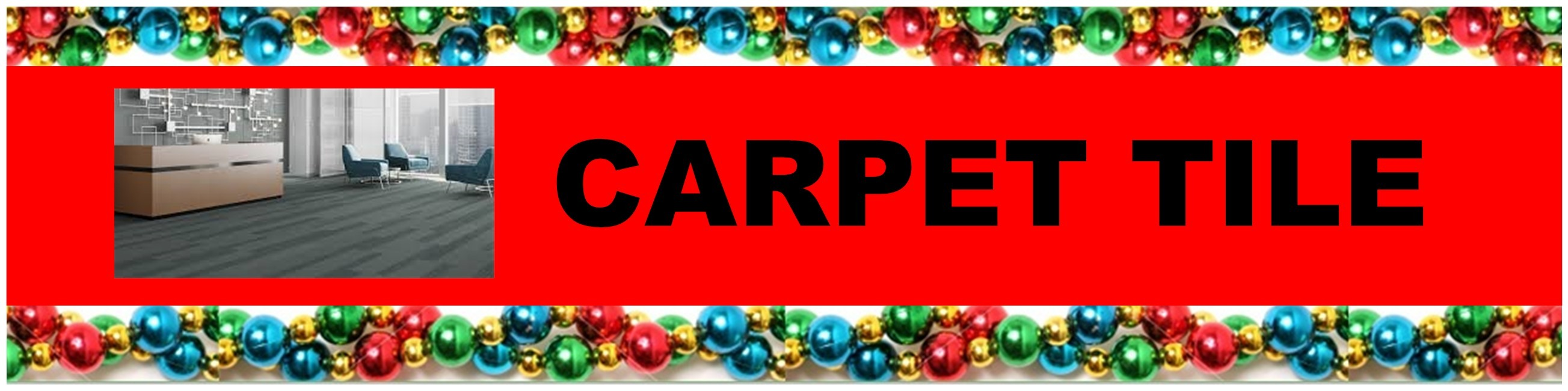 CHRISTMAS CARPET TILE HEADER