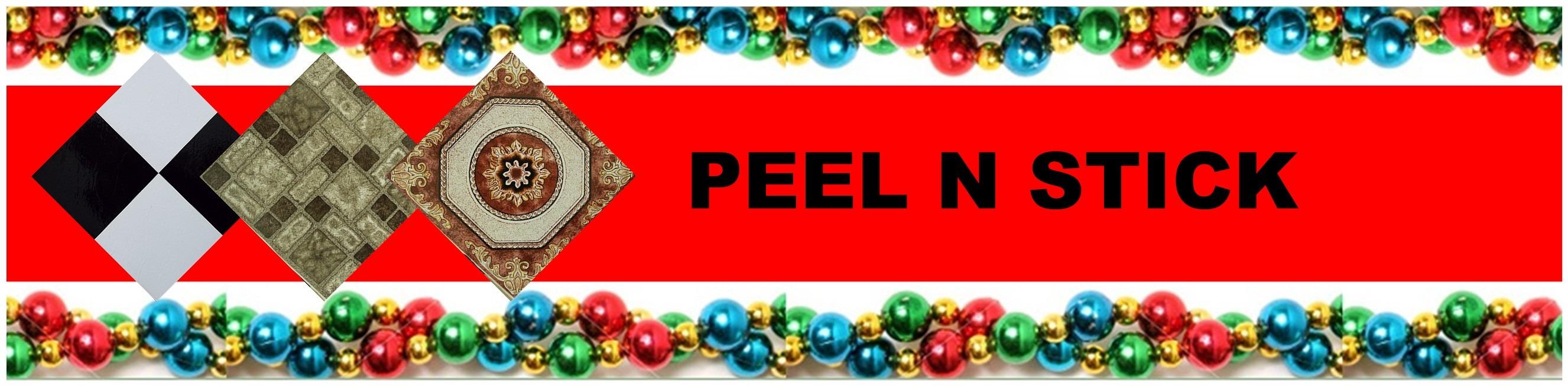 CHRISTMAS PEAL N STICK VINYL