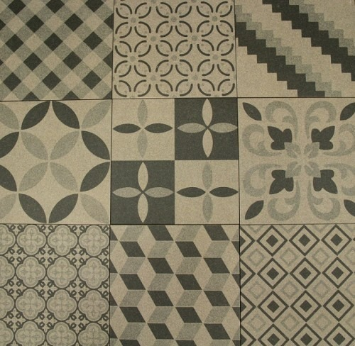 MIXED GRAY BOREAL DECORATIVE TILE