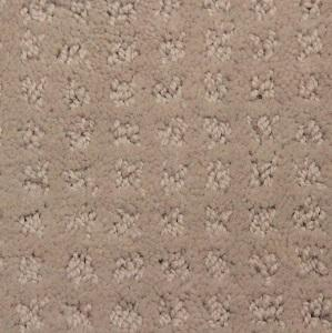 Khaki Rockwood Polyester Pattern Carpet