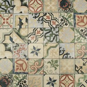 Multicolor Borne Porcelain Decorative Tile