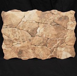 Marron Ribassos Ceramic Decorative Wall Tile