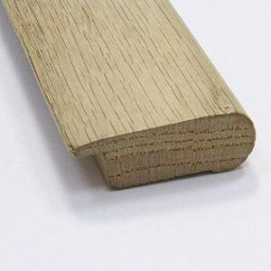 Stair Nose Half Inch Unfinished Red Oak