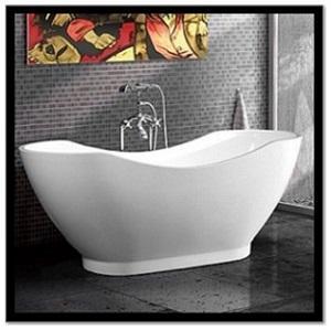 C3160 White Acrylic Freestanding Bathtub