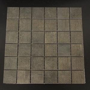 Dark Block Mosaic Porcelain Tile
