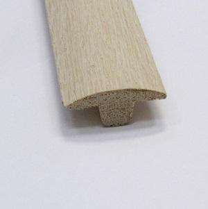 Small T-Molding Unfinished Red Oak Trim