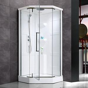 Corner Acrylic Shower With Glass