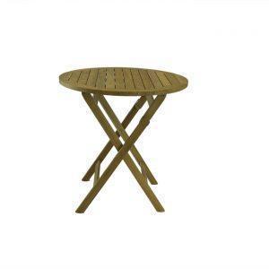 Bali Rustic Teak Folding Table