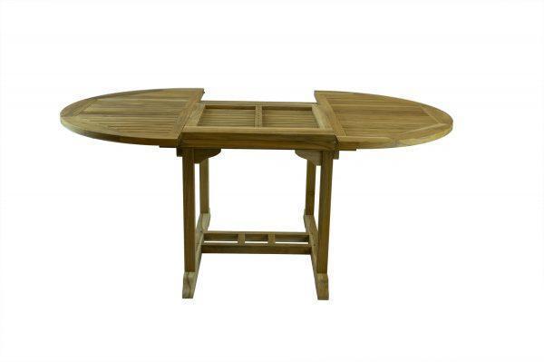 Manadon Rustic Extendable Teak Table