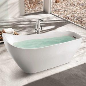SP1846 White Acrylic Freestanding Bathtub