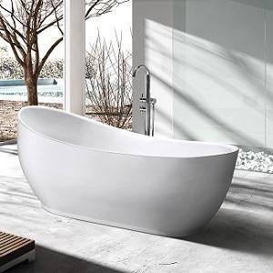 SP1883 White Acrylic Freestanding Bathtub