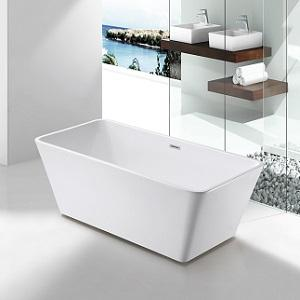 SP3638 White Acrylic Freestanding Bathtub