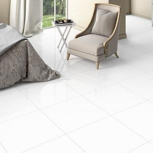 Alpes Super White Polished Porcelain Tile