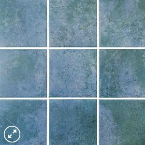 Aquamarine Baltic Porcelain Waterline Tile