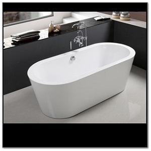C3073 White Acrylic Freestanding Bathtub