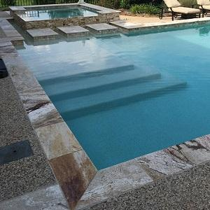 Riviera Travertine Swimming Pool Coping