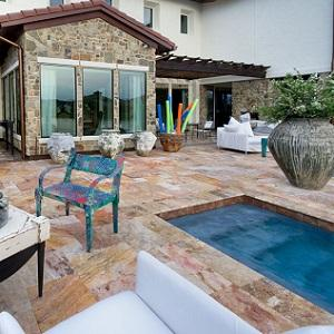 Sedona Fantastico Travertine Swimming Pool Coping