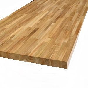 Acacia Unfinished Butcherblock Countertop Side View