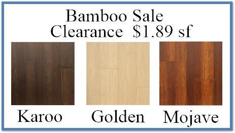 Bamboo Sale