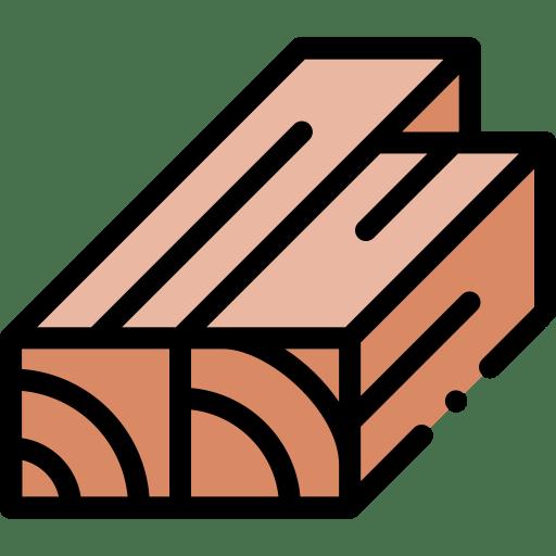 Wood grain details for butcher block countertops