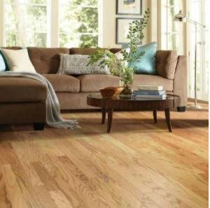 Rustic Natural Gazebo Oak Engineered Hardwood