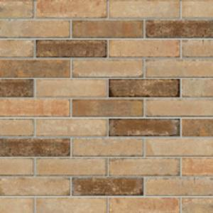 Beige Vintage Brick Tile Swatch