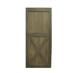 Dark Grey Borneo Ash Barn Door Single X