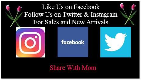Facebook Tweeter Instagram for Mothers Day