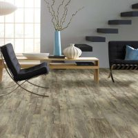 Honey Oak Vinyl Click Lock Flooring