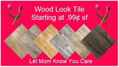 Mothers Day Wood Look Tile