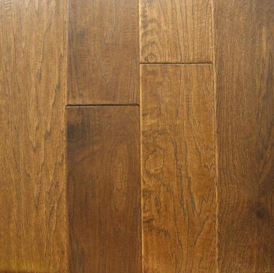 Marrone Picasso Hickory Engineered Hardwood