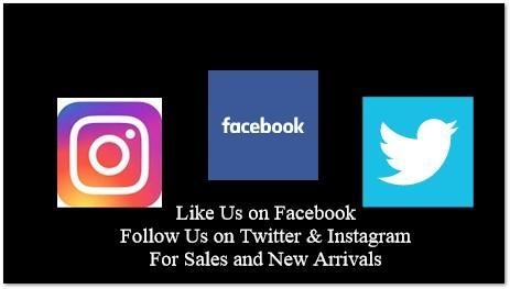 Facebook Tweeter Instagram Black Back Ground