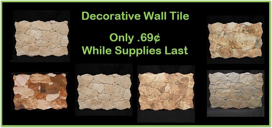 Wall Tile Sale